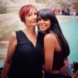 """""""Shy'm et sa maman, Sophie, lors de leurs vacances en Italie (mai 2016)."""""""