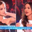 """Kamila face à Leila Ben Khalifa le 4 décembre 2017 dans """"Le Débrief"""" de SS11."""