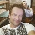 David Hallyday et sa fille Emma Smet sur une photo publiée sur Instagram le 20 février 2017