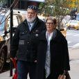 Le photographe Bruce Weber et sa femme à New York le 10 novembre 2016.
