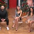 """Charlène, Noré, Barbara et Laura - Finale de """"Secret Story 11"""" sur NT1. Le 7 décembre 2017."""
