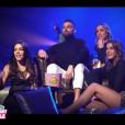 """Laura, Noré, Charlène et Barbara - Finale de """"Secret Story 11"""" sur NT1. Le 7 décembre 2017."""