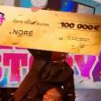 """Noré grand gagnant - Finale de """"Secret Story 11"""" sur NT1. Le 7 décembre 2017."""