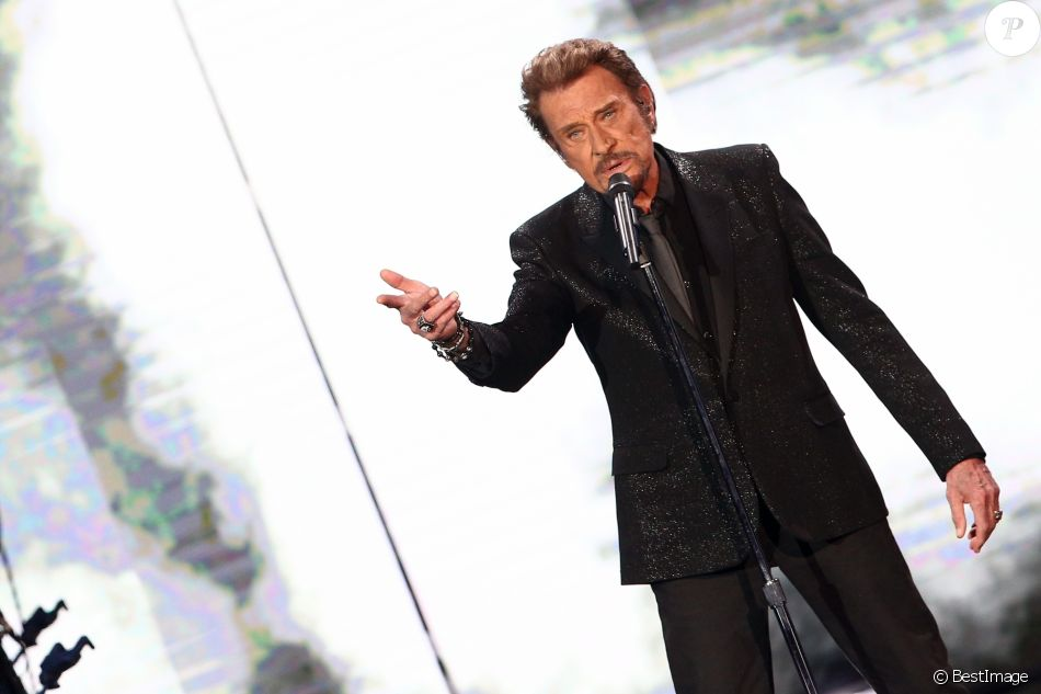 Exclusif- Johnny Hallyday- Enregistrement de l'émission Spécial Johnny Hallyday