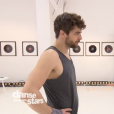 Agustin Galiana et Candice Pascal lors des répétitions de la finale de Danse avec les stars 8, le 13 décembre 2017.