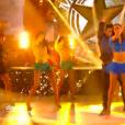 Tatiana Silva dans DALS 8, le 13 décembre 2017 sur TF1.