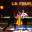 Lenni-Kim dans DALS 8 le 13 décembre 2017 sur TF1, lors de sa deuxième danse.