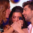 Agustin Galiana et Candice Pascal grands vainqueurs de DALS 8, le 13 décembre 2017 sur TF1.