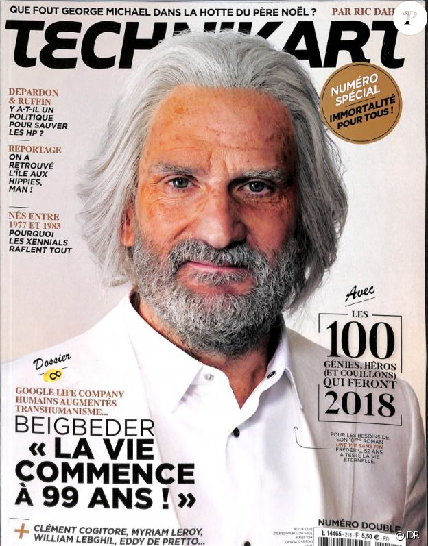Le magazine Technikart des mois de décembre 2017 - janvier 2018