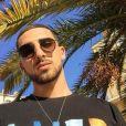 """Anthony Alcaraz, mannequin et ex-candidat des """"Anges de la télé-réalité"""" saison 9 (NRJ12)."""