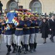 La princesse Margarita de Roumanie et son mari Radu Duda - Obsèques du roi Michel de Roumanie à Bucarest, le 16 décembre 2017.