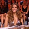 Iris Mittenaere (Miss Univers 2016), son sublime décolleté le 16 décembre 2017 pour Miss France 2018.