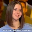 """Marina Kaye sur le plateau de l'émisson """"Salut les terriens"""" diffusée le 16 décembre 2017 sur C8"""