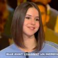 """Marina Kaye dans l'émission """"Salut les terriens"""" diffusée le 16 septembre 2017 sur C8"""