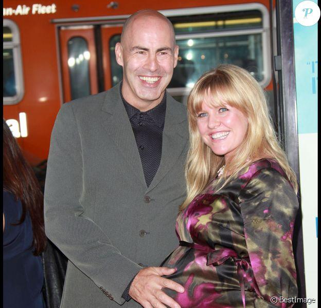 Terence Beesley et sa femme Ashley Jensen - Première de The Invention of Lying, à Hollywood, le 21 septembre 2009