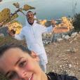 Pauline Ducruet à Monaco, son home sweet home, avec son ami Maxime Giaccardi, photo Instagram du 21 novembre 2017.
