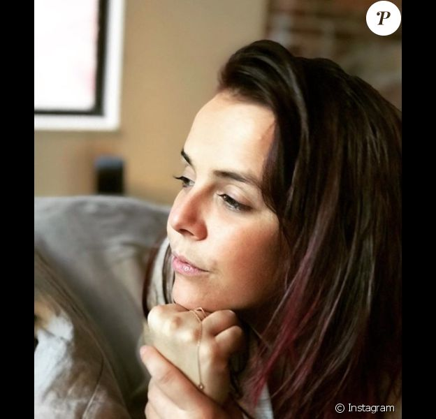 Pauline Ducruet pensive, photo Instagram du 5 novembre 2017.