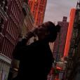 Pauline Ducruet se consumant d'amour pour New York, photo Instagram du 2 novembre 2017.