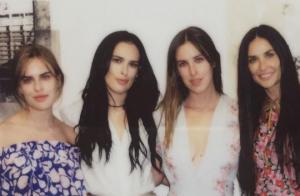 Rumer, Scout et Tallulah Willis : Les 3 filles de Demi Moore nues dans un bain