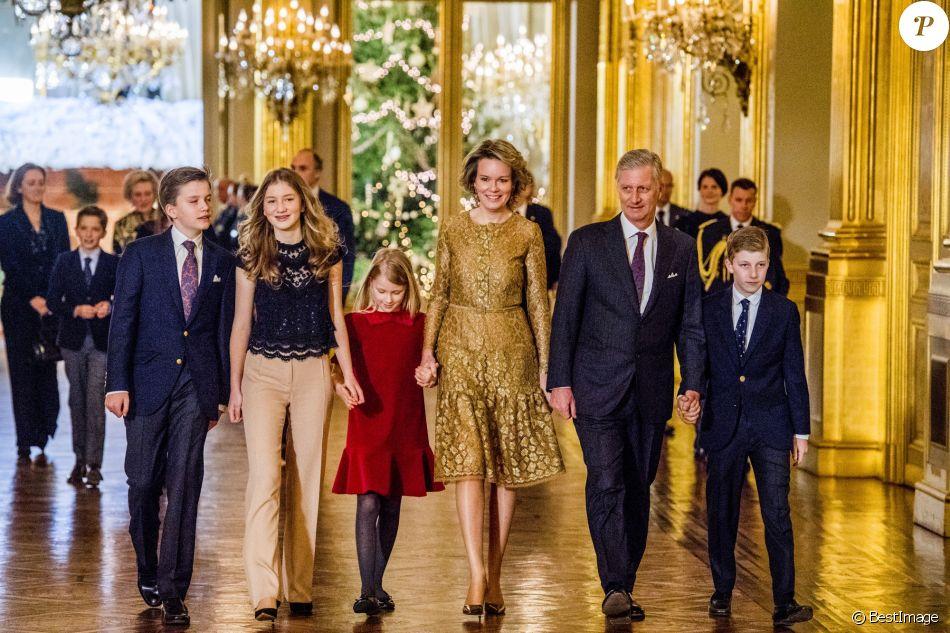 concert de noel 2018 bruxelles Mathilde et Philippe de Belgique : En famille ultrachic pour Noël  concert de noel 2018 bruxelles