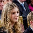 La princesse Elisabeth de Belgique - La famille royale de Belgique assiste au traditionnel concert de Noël au palais royal à Bruxelles le 20 décembre 2017. 20/12/2017 - Bruxelles