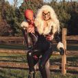 Zayn Malik et Gigi Hadid déguisés pour Halloween. Octobre 2017.