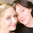 Sarah Michelle Gellar et Shannen Doherty sur une photo publiée sur Instagram le 26 décembre 2017