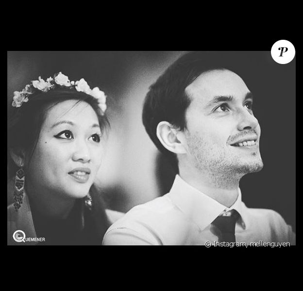 Nathalie Nguyen et son compagnon, Instagram, 1er janvier 2018
