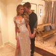 Paris Hilton et son amoureux Chris Zylka - Photo publiée sur Instagram le 19 février 2017