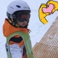 Vitaa à Val d'Isère, dévoile une photo de son fils - 3 janvier 2018, Instagram