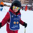 Vitaa dévoile une photo adorable de l'un de ses fils, à Val d'Isère, 3 janvier 2018, Instagram