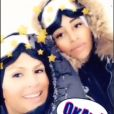 Vitaa et DemDem à Val d'Isère, 3 janvier 2018, Instagram