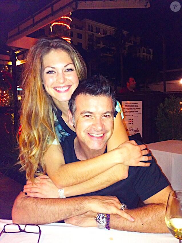 Roch Voisine et sa compagne Myriam Chantal sur une photo publiée sur Twitter en octobre 2016