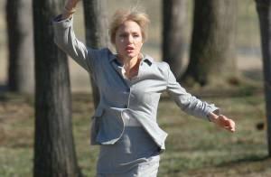 Angelina Jolie, à bout de force et blessée... trouve encore la force de fuir !