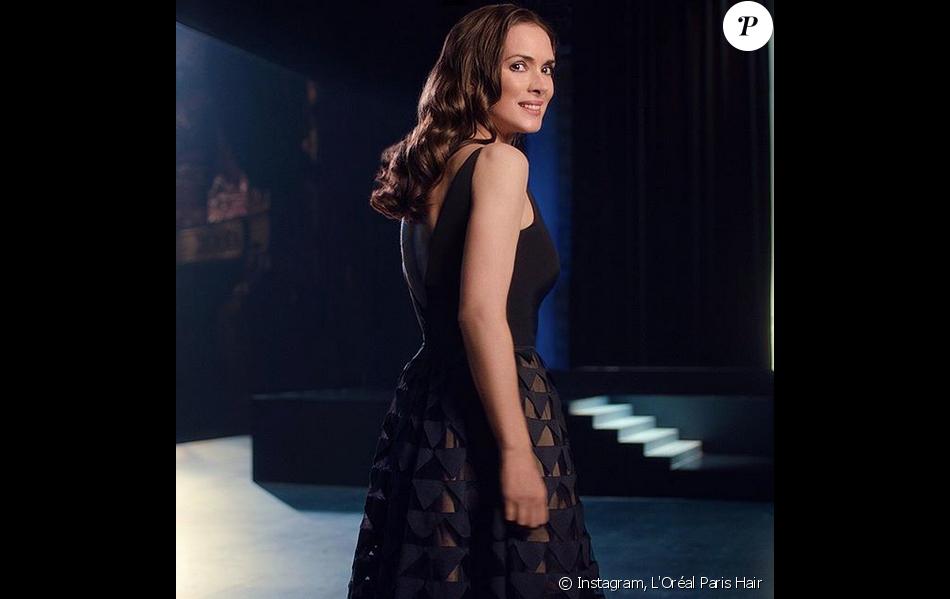 Winona Ryder est la nouvelle ambassadrice de L'Oréal Paris Hair.