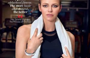 Princesse Charlene de Monaco : Fitgirl canon en résille à la salle de sport !