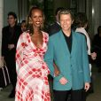 David et Iman Bowie à New York le 5 mai 2003.