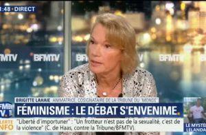 Brigitte Lahaie choque :