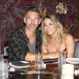 Exclusif - LeAnn Rimes fête ses 35 ans en compagnie de son mari Eddie Cibrian et ses parents au restaurant TAO à Hollywood, le 3 septembre 2017.