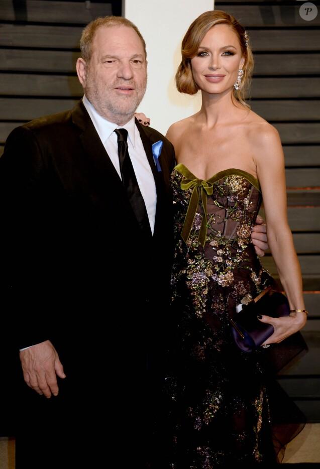 Harvey Weinstein - People à la soirée Vanity Fair en marge de la cérémonie des Oscar 2017 à Los Angeles le 26 février 2017.