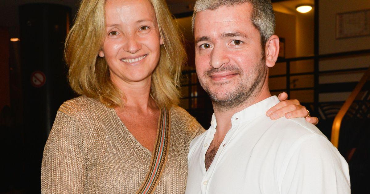 Grégoire et sa femme Eléonore de Galard au spectacle des Coquettes à l'Olympia à Paris, le 2 ...
