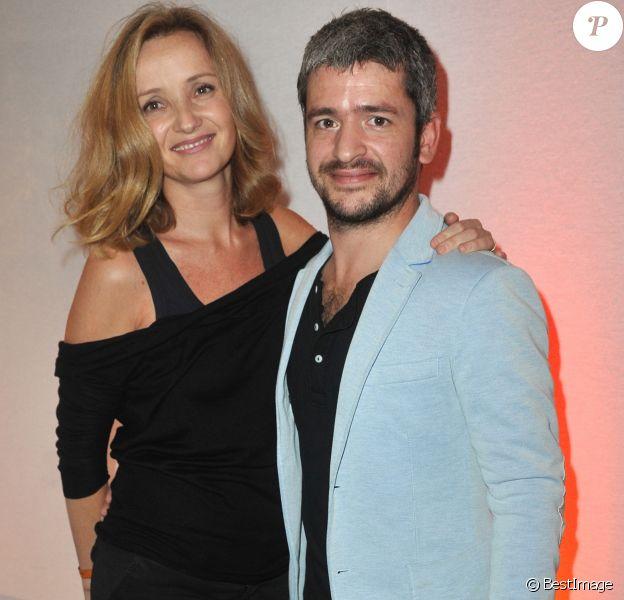 Grégoire et sa femme Eléonore de Galard - Soirée d'inauguration de la FIAC 2013 (Foire Internationale d'Art Contemporain) au Grand Palais à Paris le 23 octobre 2013.