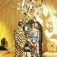 """""""Le Bal Surréaliste"""" Dior au Musée Rodin lors de la Fashion Week haute couture printemps-été 2018 à Paris, le 22 janvier 2018."""