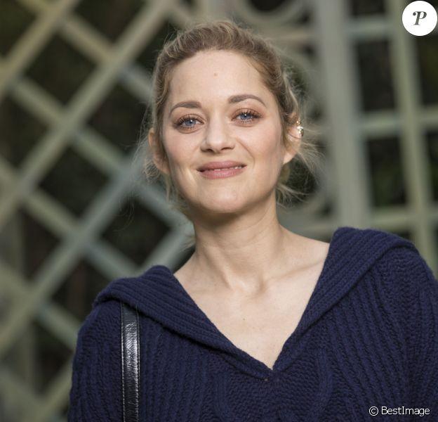 Marion Cotillard - Défilé de mode «Chanel», collection Haute-Couture printemps-été 2018, au Grand Palais à Paris. Le 23 janvier 2018 © Olivier Borde / Bestimage