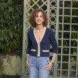 Leïla Slimani - Défilé de mode «Chanel», collection Haute-Couture printemps-été 2018, au Grand Palais à Paris. Le 23 janvier 2018 © Olivier Borde / Bestimage