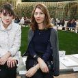 Astrid Bergès et Sofia Coppola - Défilé de mode «Chanel», collection Haute-Couture printemps-été 2018, au Grand Palais à Paris. Le 23 janvier 2018