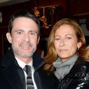 Manuel Valls, barbu, et sa femme au théâtre avec Igor Bogdanov et une amie