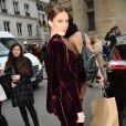 Iris Mittenaere au défilé de mode Jean Paul Gaultier, collection haute-couture printemps-été 2018, à Paris. Le 24 janvier 2018 © CVS - Veeren / Bestimage