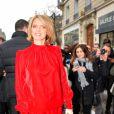 Sylvie Tellier au défilé de mode Jean Paul Gaultier, collection haute-couture printemps-été 2018, à Paris. Le 24 janvier 2018 © CVS - Veeren / Bestimage