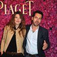 Gwendoline Hamon et Frederic Diefenthal à Paris le, 13 Juin 2013 - Soiree privee Piaget a l'Orangerie Ephemere dans le jardin des Tuileries Piaget.